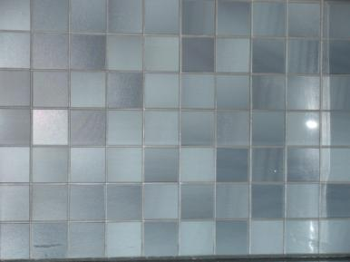 glass tile backsplah